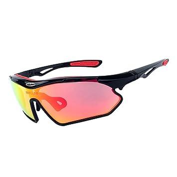 Gafas de sol polarizadas deportivas para ciclismo, correr, senderismo, pesca, gafas para