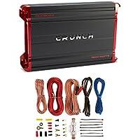Crunch Powerzone 1800 Watt 2 Channel Class A/B Amplifier + 8 Gauge Wiring Kit
