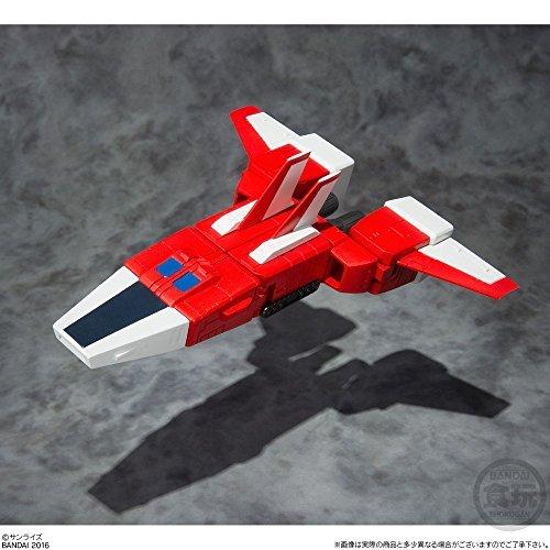 Super Minipura Space Runaway Ideon - trigger set - 1 pieces Candy Toys & gum (Space Runaway Ideon)