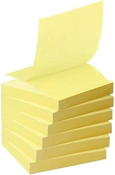 Post-It R330-1B - Pack de 6 blocs de notas recicladas y notas, 76 ...