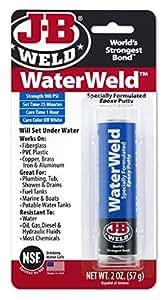 J-B Weld 8277 WaterWeld Epoxy Putty Stick - 2 oz.