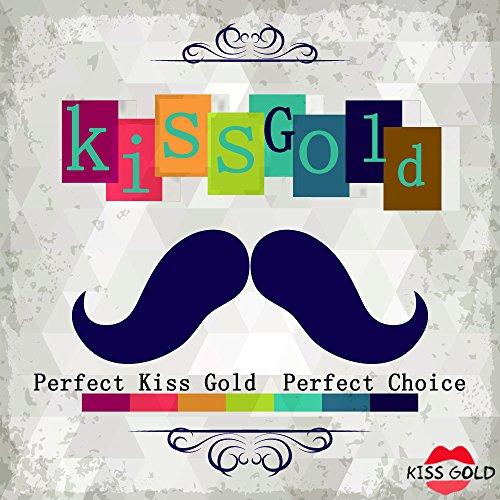 TM Travers à Main Tissu Sac Epaule Sacoche Besace Rouge Bandoulière KISS Classique Porte GOLD H4qv5AW5xw
