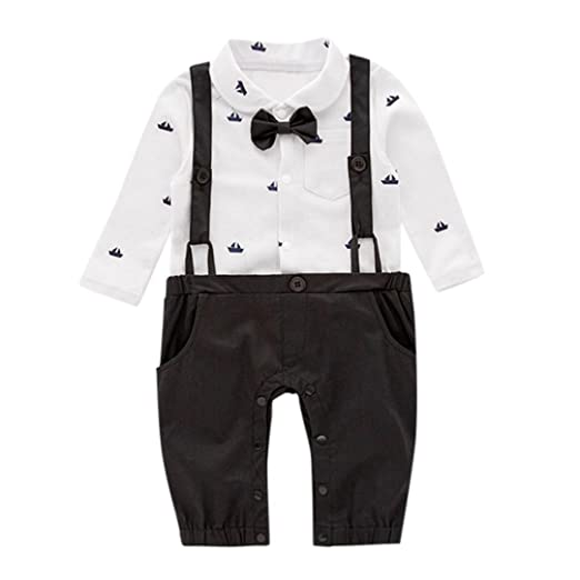 d6c48e74493 Amazon.com  Sagton Jumpsuit for Baby Boys