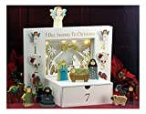 Three Kings Gifts The Children's 7 Day Journey to Christmas Nativity Set