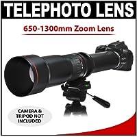 Vivitar 650-1300mm f/8-16 SERIES 1 Telephoto Zoom Lens for Panasonic / Olympus Evolt E-30, E-300, E-330, E-410, E-420, E-450, E-500, E-510, E-520, E-600, E-620, E-1, E-3 Digital SLR Cameras