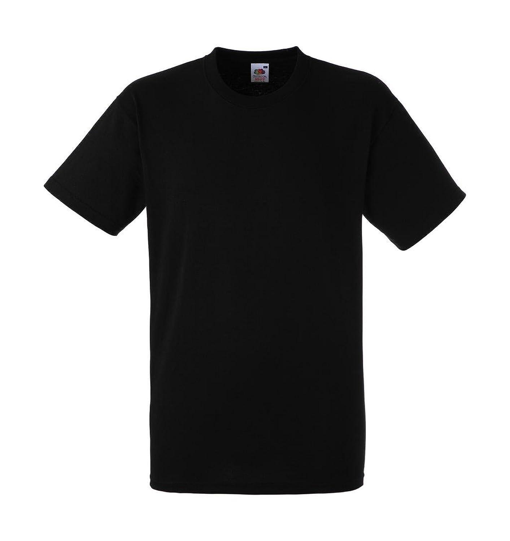 10 x pack of 10 fruit of the loom t shirt black 195 gr. Black Bedroom Furniture Sets. Home Design Ideas