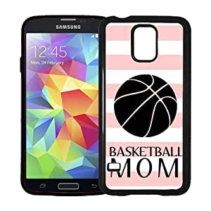 Basketball Mom Baby Pink Stripes Cute Hipster Samsung Galaxy S5 SV Case - Fits Samsung Galaxy S5 SV