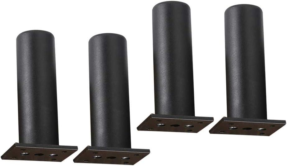 Yardwe - 4 patas ajustables para muebles, aluminio, patas ...