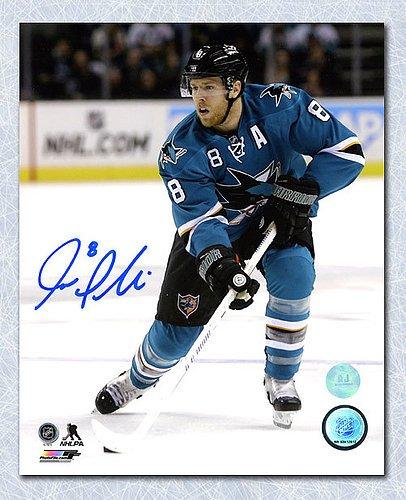 5add59926 Joe Pavelski San Jose Sharks Autographed 8x10 Photo - Signed Hockey Pictures