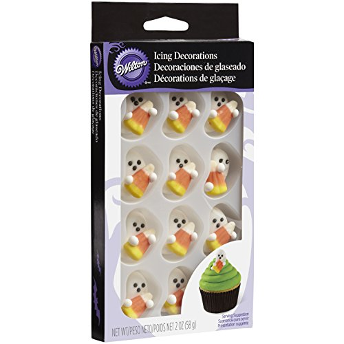 Wilton 710-0131 Halloween Royal Icing Decorations with Candy Corn]()