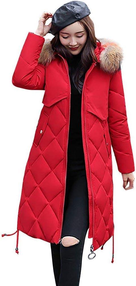 LianMengMVP veste chaude femme Polyester Longue manteau d'hi ver doudoune legere Plaid coupe vent Veste avec Rembourrage en Coton matelassée Bandage