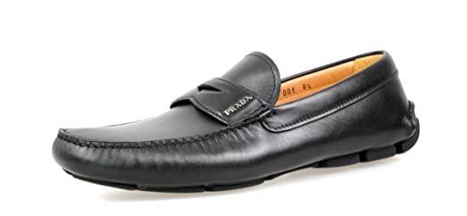 Men's 2DD001 T6O F0002 Leather Loafers