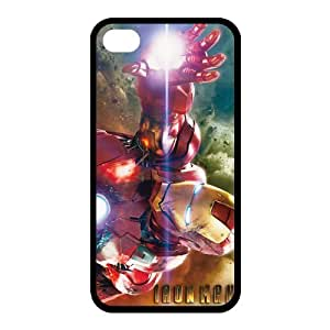 Custom Iron Man Back Case for iphone4,4S JN4S-197 by lolosakes