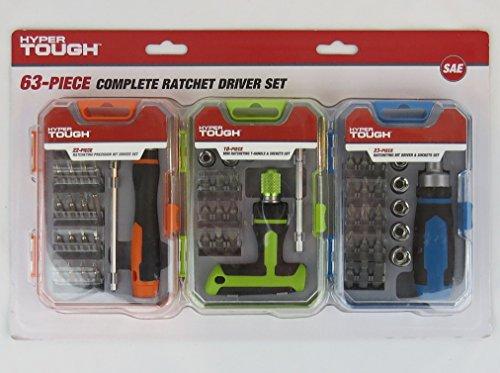 63 Piece Complete Ratchet Driver Set -