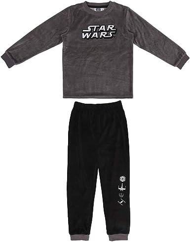 CERDÁ LIFES LITTLE MOMENTS Pijama Terciopelo Niño de Star Wars-Licencia Oficial Disney para Niños