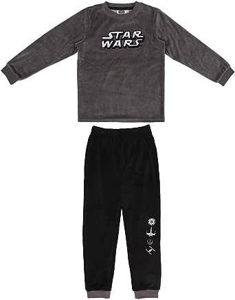CERDÁ LIFE'S LITTLE MOMENTS Pijama Terciopelo Niño de Star Wars-Licencia Oficial Disney para Niños