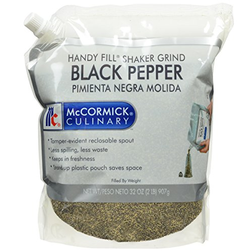 Mccormick Culinary Handy Fill Shaker Grind Black Pepper  2 Pound