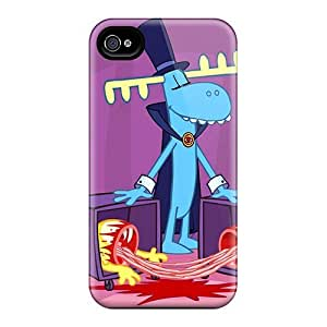 4/4s Scratch-proof Protection Case Cover For Iphone/ Hot Happy Three Friends Phone Case