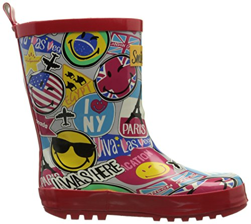 Travel Unisex amp; Kinder Smiley Multico Stiefel BE Mehrfarbig Stiefeletten ONLY Multicolore qtPEWO1
