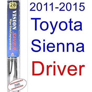 Amazon.com: 2011-2015 Toyota Sienna Wiper Blade (Driver) (Saver ...