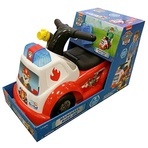 New Paw Patrol Marshall Fire Engine Ride On Ride On Realevaluation Com