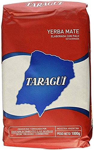 Taragui  Yerba Mate Regular Blend, 2.2lb, (Pack of 10) (Taragui Mate Yerba)