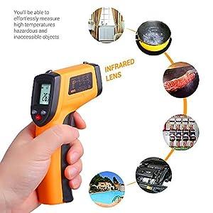 Pro Sonic Ir Laser Infrarot Thermometer Temperaturmessgerat