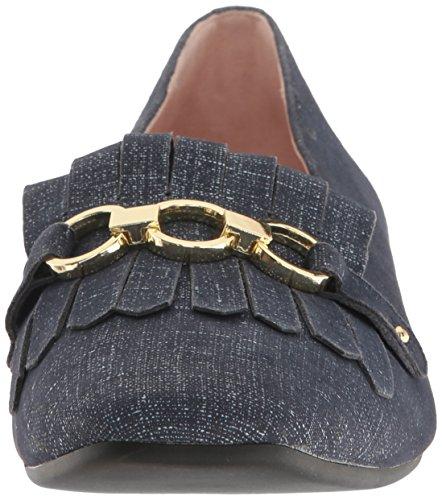 Kate Spade New York Vrouwen Karen Smoking Loafer Denim Suede