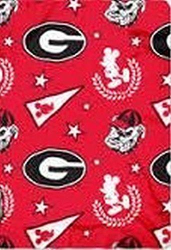 Georgia Bulldogs Fleece Throw - 9