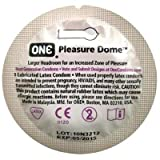 Pleasure Dome Roomier ONE Condoms 24 Pack