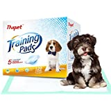 Thxpet Puppy Pads 120 Count Super Absorbent Leak-proof Dog Pee Training Pads 17.5 x 23.5 inch