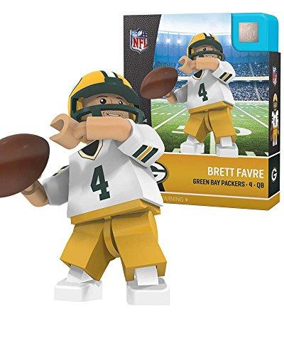 Brett Favre NFL OYO Green Bay Packers Away Gen4 G4 Mini Figure