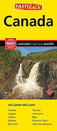 Rand McNally Canada Easy to Fold - Map Canadian