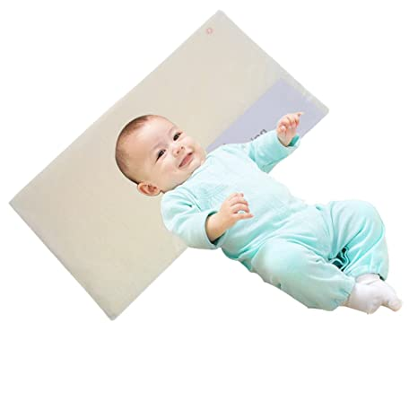 Almohada antiespumas para bebé, reductora de la congestión ...