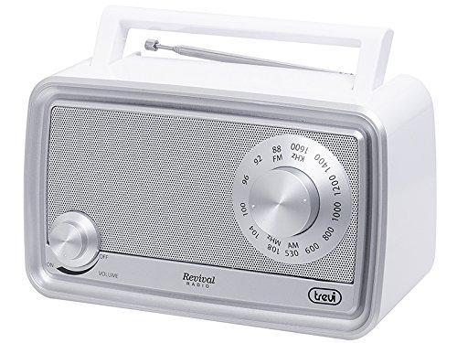 Radio Port/átil, Anal/ógica, AM,FM, Blanco, Mon/ótono, Giratorio Trevi RA 770 V Port/átil Anal/ógica Blanco