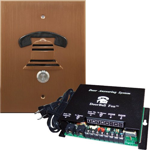 DoorBell Fon DP38 Door Answering System, NuTone Mount, Bronze (DP38-BZN) by DoorBell Fon