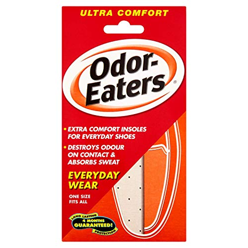 Odor-Eaters Ultra-Comfort Insoles 1 Pair (Tops Table Zinc Cleaning)