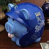 MLB Kansas City Royals Piggy Bank, Blue, Large