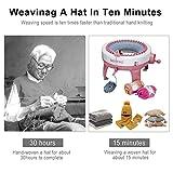 Knitting Machine, 48 Needles King Size Smart