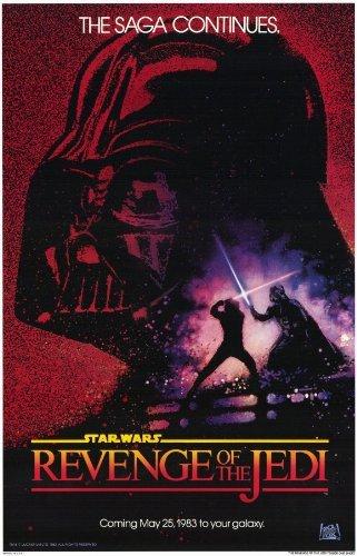 (Revenge of the Jedi POSTER Movie (11 x 17 Inches - 28cm x 44cm) (1983))