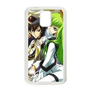 Code Geass Samsung Galaxy S5 Cell Phone Case White FRGAG6410917499103