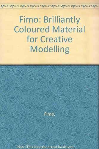 Fimo: Brilliantly Coloured Material for Creative Modelling