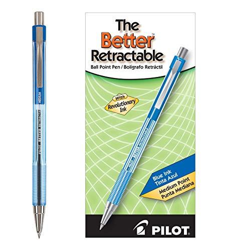 Pen Retractable Blue Ink - 7