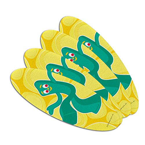 Get Your Gumby On Double-Sided Oval Nail File Emery Board Se