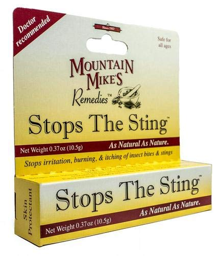 Stop the Sting All Natural Relief Insect Ointment,