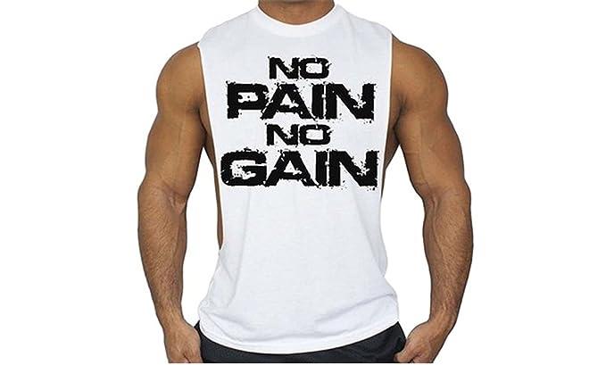 6d180b6003403 YeeHoo Mens sans Manches Débardeur Muscle Workout T-Shirt Bodybuilding Tank  Top Musculation de Fitness pour Les Hommes  Amazon.fr  Vêtements et  accessoires