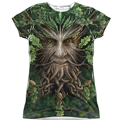 Anne Stokes Gothic Fantasy Art Fae Collection Oak Tree King Junior Front Print T (Art Fae)