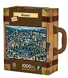 : MasterPieces / Collector Suitcase 1000-piece Puzzle, Boston