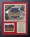 Legends Never Die ''North Carolina State Wolfpack Carter-Finley Stadium'' Framed Photo Collage, 11 x 14-Inch