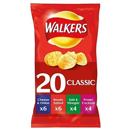 Walkers Crisps Variety Pack 20 Bags